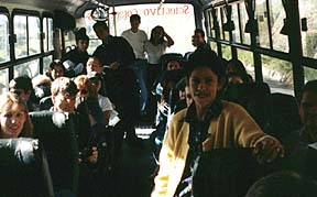 The Gang on the Bus
